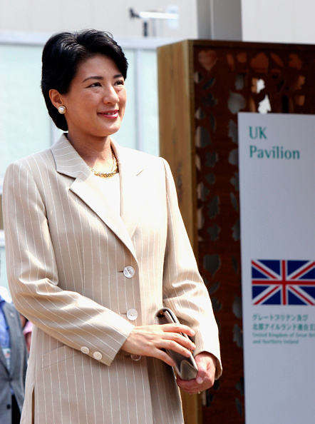 Japan Expo「Japanese Crown Princess Masako and Crown Prince Naruhito Visit Aichi Expo」:写真・画像(17)[壁紙.com]