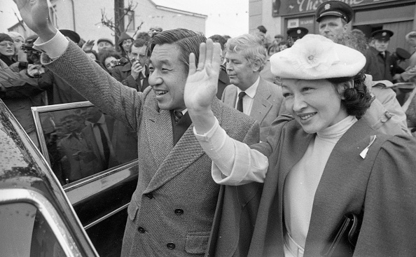 Emperor Akihito「Japanese Royal Visit 1985」:写真・画像(8)[壁紙.com]