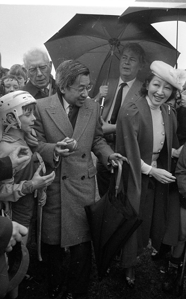 Japanese Royalty「Japanese Royal Visit 1985」:写真・画像(17)[壁紙.com]