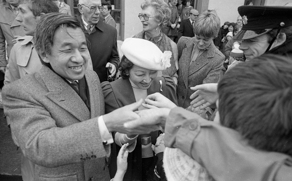 Japanese Royalty「Japanese Royal Visit 1985」:写真・画像(10)[壁紙.com]