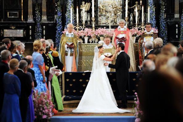 Married「Wedding Of Swedish Crown Princess Victoria & Daniel Westling - Ceremony」:写真・画像(17)[壁紙.com]