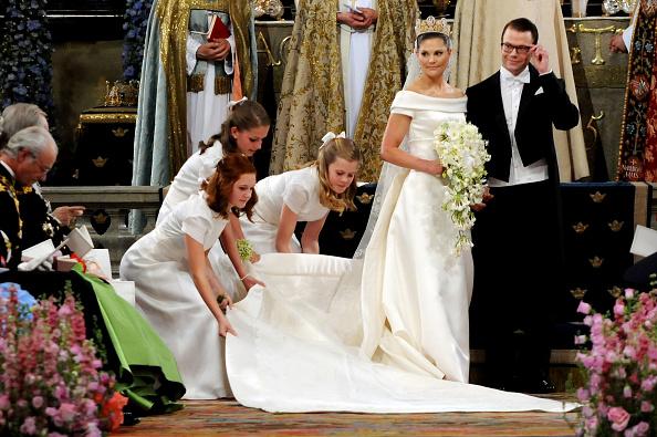 Crown Princess Victoria of Sweden「Wedding Of Swedish Crown Princess Victoria & Daniel Westling - Ceremony」:写真・画像(9)[壁紙.com]