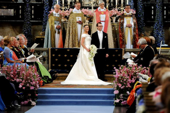 Bouquet「Wedding Of Swedish Crown Princess Victoria & Daniel Westling - Ceremony」:写真・画像(13)[壁紙.com]
