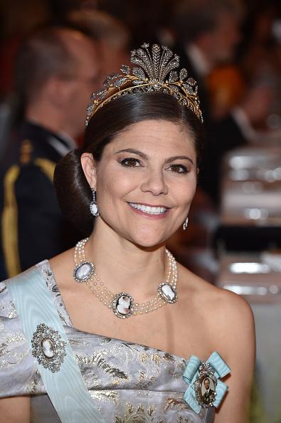 Crown Princess Victoria of Sweden「Nobel Prize Banquet 2016, Stockholm」:写真・画像(16)[壁紙.com]