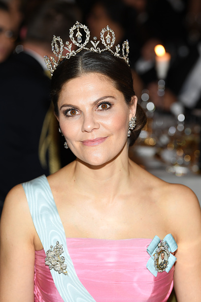 Crown Princess Victoria of Sweden「Nobel Prize Banquet 2018, Stockholm」:写真・画像(18)[壁紙.com]