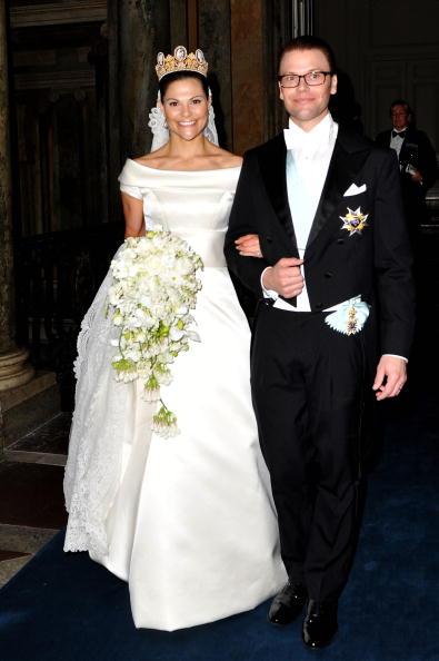Crown Princess Victoria of Sweden「Wedding Of Swedish Crown Princess Victoria & Daniel Westling: Banquet - Inside」:写真・画像(1)[壁紙.com]