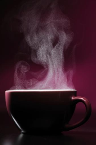 Coffee - Drink「Hot drink with steam」:スマホ壁紙(5)