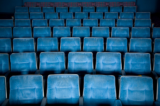 Auditorium「Empty Movie Theater」:スマホ壁紙(19)