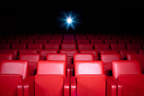 Film Industry「Empty movie theater」:スマホ壁紙(1)