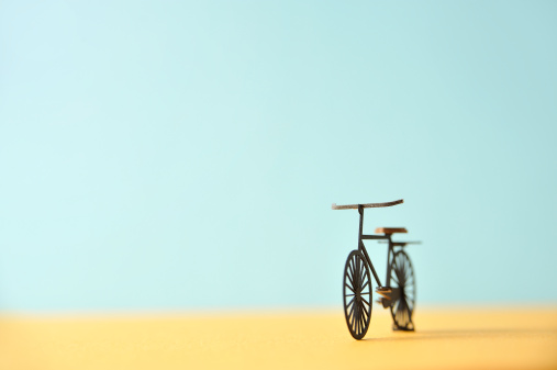 Paper Craft「Bicycle model made ??of paper」:スマホ壁紙(17)