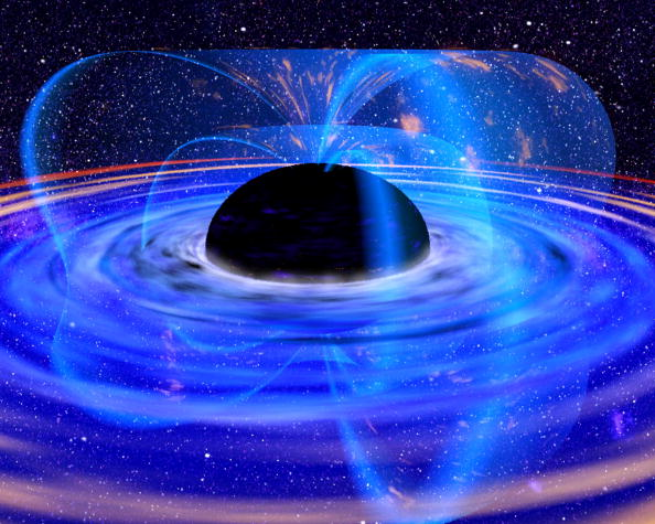 Outer Space「Astronomers Observe Black Hole」:写真・画像(7)[壁紙.com]