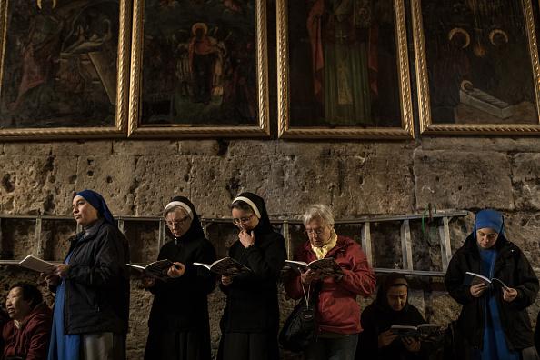 Religious Mass「Jerusalem Gears Up For Easter Celebrations」:写真・画像(8)[壁紙.com]