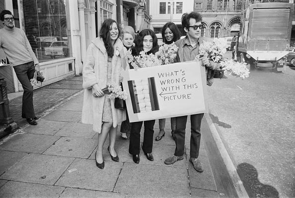 Social Issues「Yoko Ono At Censorship Protest」:写真・画像(15)[壁紙.com]