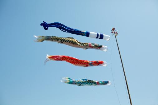 こいのぼり「Koinobori (Carp streamers)」:スマホ壁紙(11)