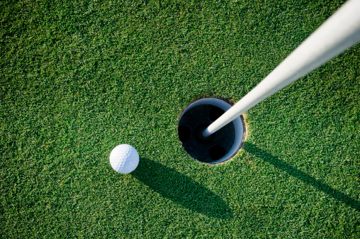 Green - Golf Course「On the green」:スマホ壁紙(4)