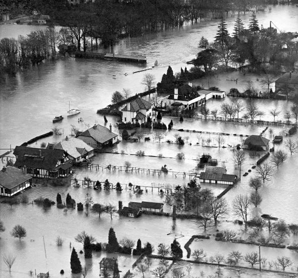 Water's Edge「Flooding Of The River Thames Near Windsor」:写真・画像(7)[壁紙.com]