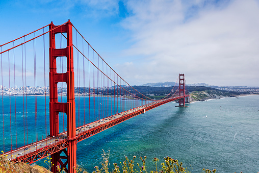 San Francisco - California「Golden Gate Strait」:スマホ壁紙(5)