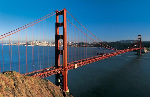 シリーズ画像「Golden Gate Bridge, San Francisco, California, USA」:スマホ壁紙(7)