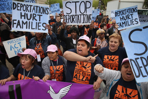 Strike - Protest Action「Activists Rally Outside The White House To Protest Deportations」:写真・画像(19)[壁紙.com]