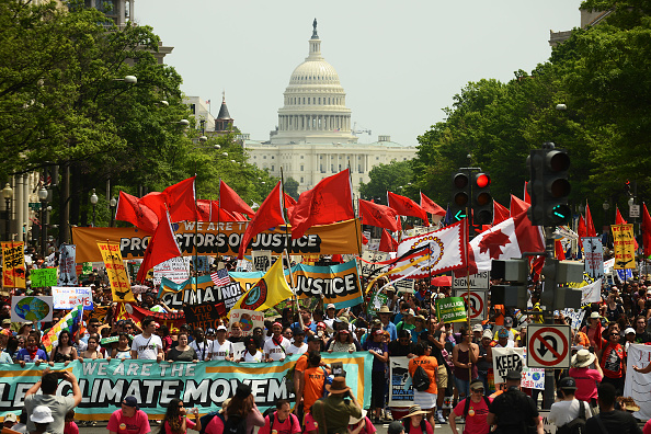 Protest「Climate Marches Take Place Across Country」:写真・画像(0)[壁紙.com]