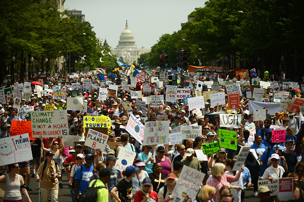 Protest「Climate Marches Take Place Across Country」:写真・画像(8)[壁紙.com]