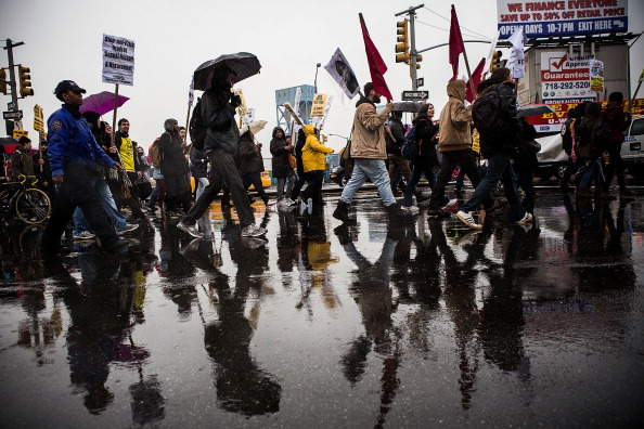 Strategy「Activists March In New York City To Protest Police Brutality」:写真・画像(11)[壁紙.com]