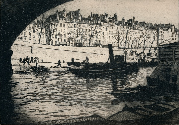 Physical Geography「'Quai de l'Hotel de Ville', 1915」:写真・画像(11)[壁紙.com]