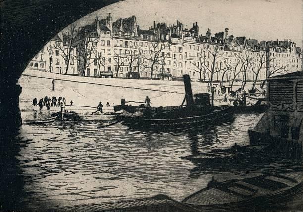 'Quai de l'Hotel de Ville', 1915:ニュース(壁紙.com)