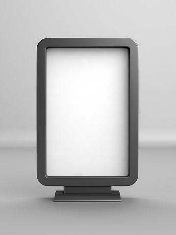 縦位置「空白の広告看板」:スマホ壁紙(17)