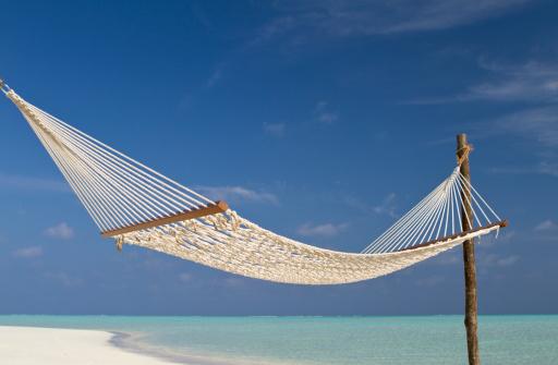 Hammock「Net hammock in paradisiac beach」:スマホ壁紙(7)