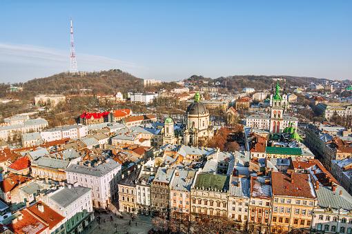 Ukraine「Cityscape, Lviv, Ukraine」:スマホ壁紙(16)