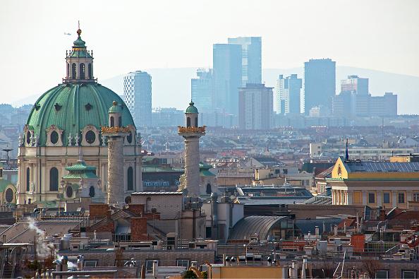 Austria「Cityscape With Charles Church」:写真・画像(9)[壁紙.com]