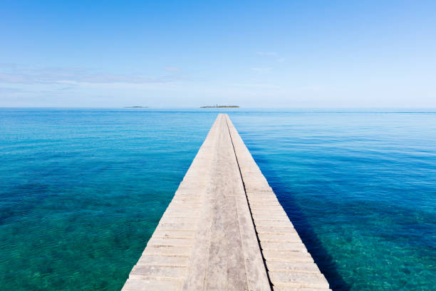 Endless Jetty to the Horizon Noumea New Caledonia:スマホ壁紙(壁紙.com)