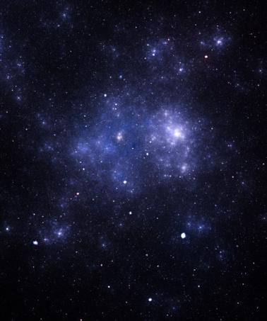 星空「ブルーのスペース「galaxy」:スマホ壁紙(7)
