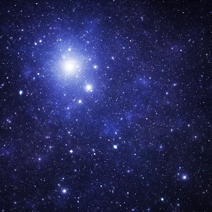 star sky「ブルースペース星雲」:スマホ壁紙(15)