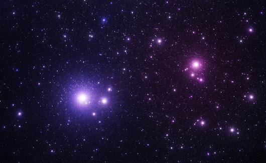 星空「ブルースペースの星」:スマホ壁紙(10)