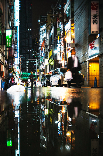 Puddle「City reflections, Tokyo.」:スマホ壁紙(7)