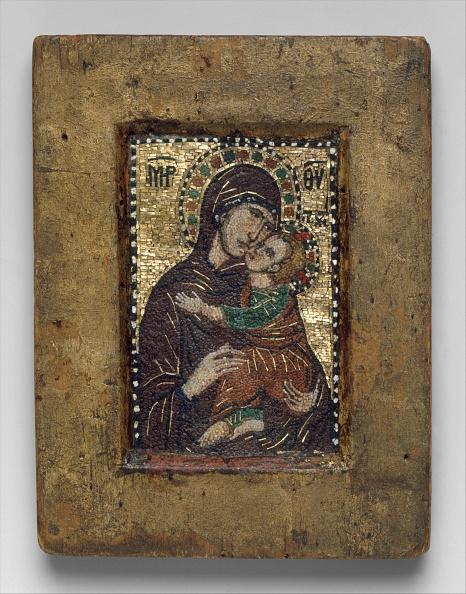 Circa 14th Century「Portable Icon With The Virgin Eleousa」:写真・画像(7)[壁紙.com]