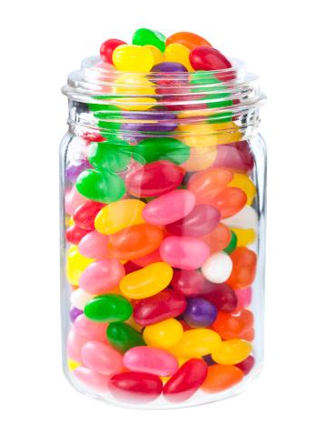 グミ・キャンディー「ジェリー豆を入れる瓶」:スマホ壁紙(16)