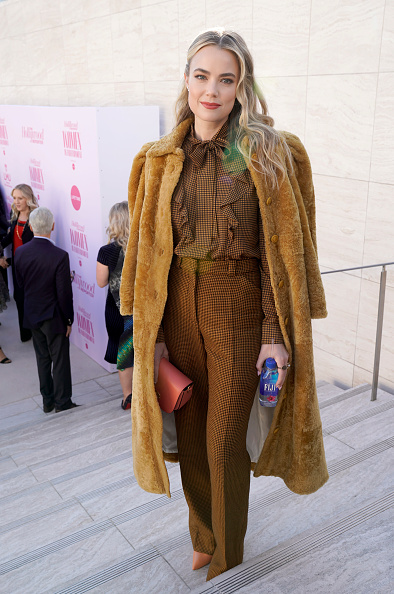 Coat - Garment「FIJI Water at The Hollywood Reporter's 28th Annual Women in Entertainment Breakfast」:写真・画像(8)[壁紙.com]