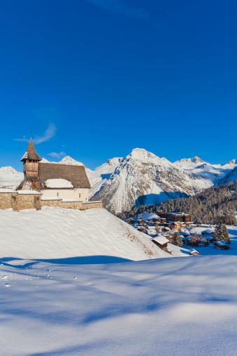Arosa「View of ski resort Arosa, Switzerland」:スマホ壁紙(18)