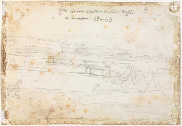 Recreational Pursuit「War Encampment Scene (Verso)」:写真・画像(9)[壁紙.com]