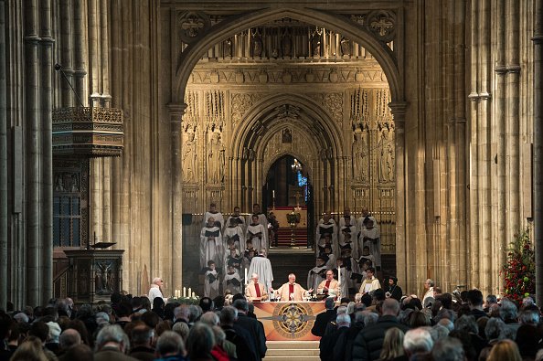 Church「Archbishop Of Canterbury Delivers His Christmas Sermon」:写真・画像(4)[壁紙.com]