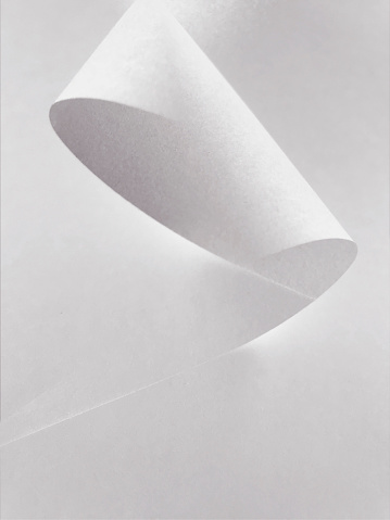Multiple Exposure「Multiple Exposure Image of a curled sheet of White Paper」:スマホ壁紙(2)
