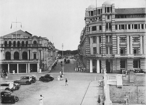 Crockery「'The Grand Oriental Hotel and P. & O. Building, Ceylon', c1890,」:写真・画像(16)[壁紙.com]