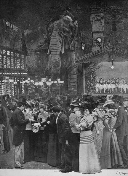 1900-1909「Au Moulin Rouge - Dans Le Jardin」:写真・画像(9)[壁紙.com]