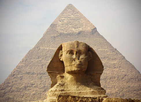 Archaeology「The Great Sphinx of Giza」:スマホ壁紙(7)