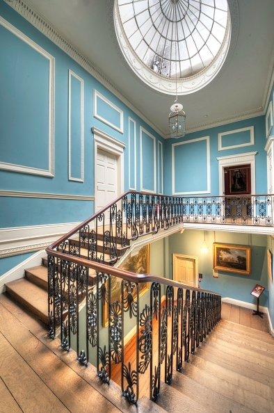 Ceiling「The Great Stairs, Kenwood House, Hampstead, London, 2011」:写真・画像(10)[壁紙.com]