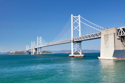 Kagawa Prefecture「The Great Seto Bridge, Kagawa Prefecture, Shikoku, Japan」:スマホ壁紙(4)