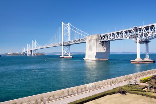 Kagawa Prefecture「The Great Seto Bridge, Kagawa Prefecture, Shikoku, Japan」:スマホ壁紙(6)